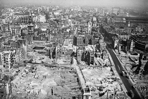 New exhibition documents devastation OF SECOND WORLD WAR