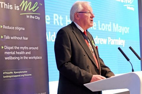 Lord Mayor wages war on mental health stigma
