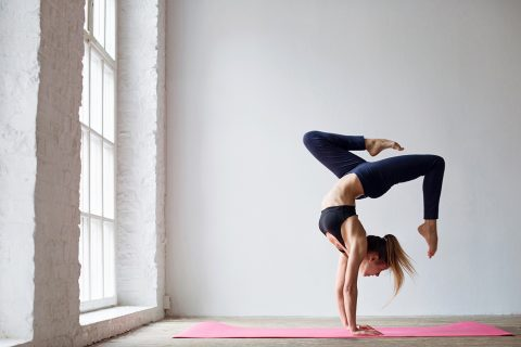 'uber for yoga' app connects STUDENTS with yogis