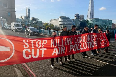 Protesters will welcome progress on a Clean Air Bill
