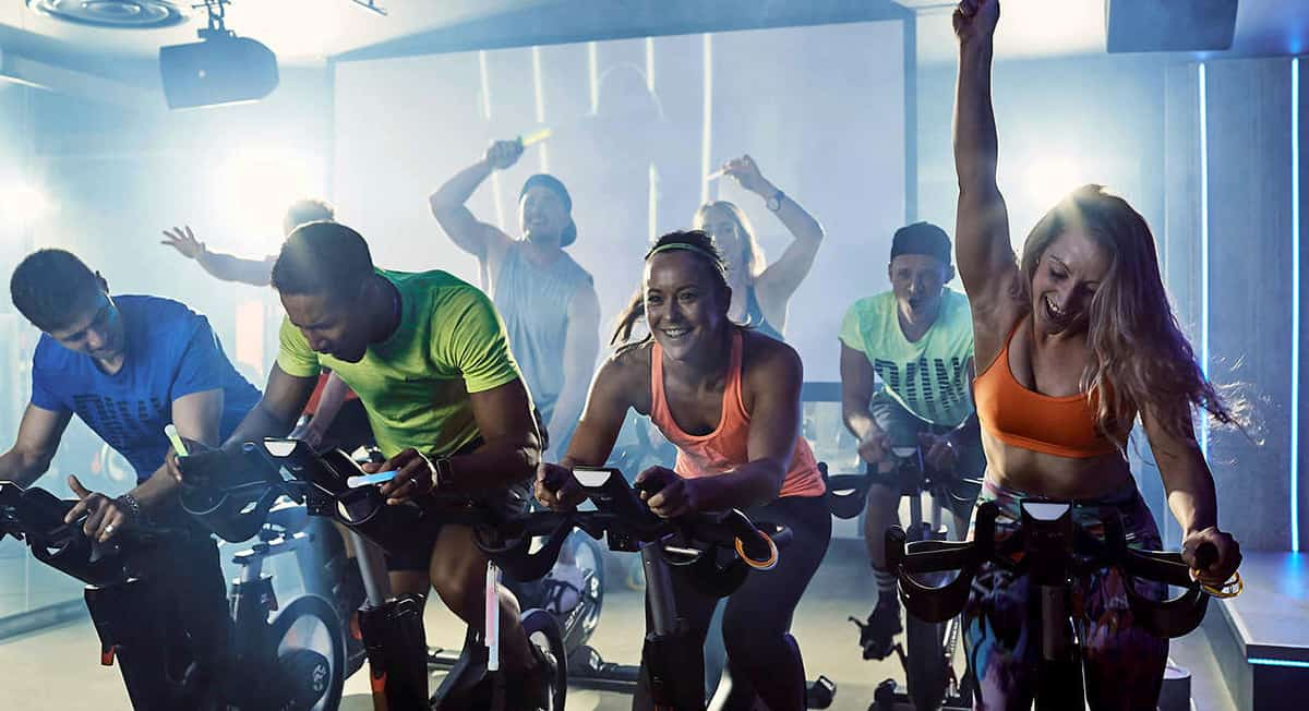 Find your ride tribe with the City's best spin classes