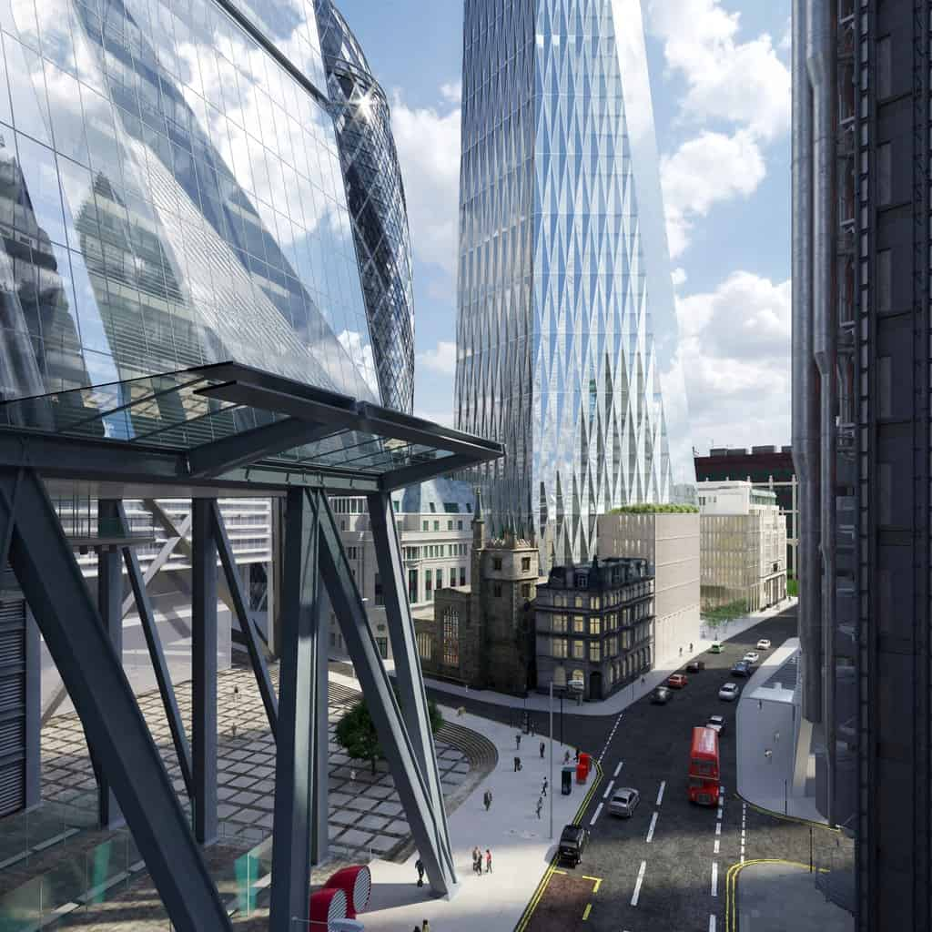 Planners Approve Third Tallest City Building Quot Cheesegrater