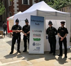 A police operation aimed at reducing the number of people begging in the Square Mile saw over 100 people getting help with housing and health problems.