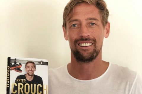 Peter Crouch will be signing copies of his new book