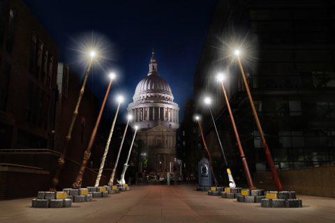 Breathtaking wands will light up Peter's Hill next month