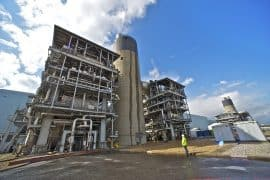 Demolition of the old Barking Power Station has already begun.
