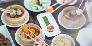 city of london square mile chinese new year Yauatcha broadgate circle lunar
