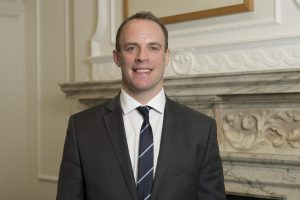 Mr Raab has quit as Brexit Secretary