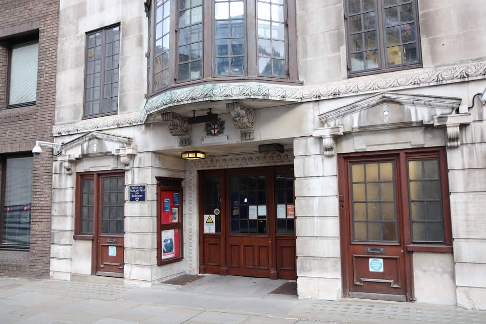 city of london police station